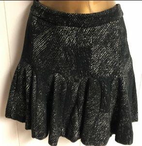 Banana Republic Mini Black Skirt.